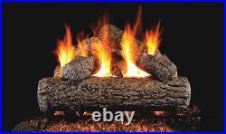 Real Fyre Golden Oak 24 Vented Gas Log Natural Gas