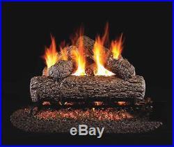 Real Fyre Golden Oak Vented Gas Logs, Logs Only, 30