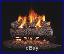 Real Fyre Post Oak Vented Gas Logs, 18