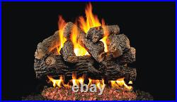 Real Fyre Royal English Oak Designer BD-18 Standard 18 Vented Gas Log Set