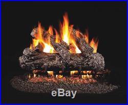 Real Fyre Rustic Oak Vented Gas Logs, Logs Only, 18
