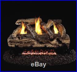 Real Fyre Split Oak 24 Vent Free Gas Log Propane