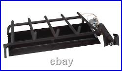 Real Fyre Triple T Natural Gas Burner System G45-36 Vented Burner For Gas Logs