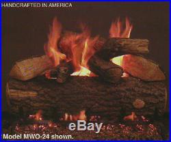 Real Fyre Weathered Oak 30 Vented Gas Log Natural Gas