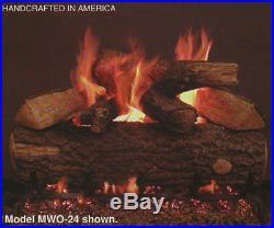 Real Fyre Weathered Oak 30 Vented Gas Log Propane