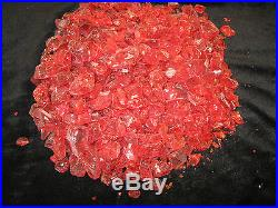 Red Cosmopolitan Fire glass for your gas fireplace or gas fire pit GL-Red