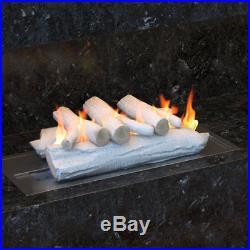 Regal Flame 16 Birch Ceramic Fireplace Gas Logs