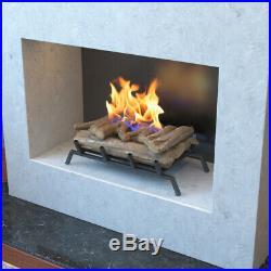 Regal Flame Oak 24 Bio Ethanol Ventless Fireplace Convert Gas Log Insert Set