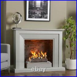 Regal Flame RFA5005 16in 5-Piece Ceramic Fireplace Gas Logs in Oak