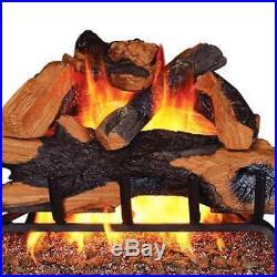 Remington 24 Backwoods Split Vented 55,000 BTU Natural Gas Log Burner(Open Box)