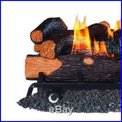 Remington 24 Rocky Point Split Vent Free 32,000 BTU LP Propane Logs (Open Box)