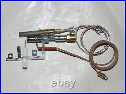 Remote Vent Free Gas Log Fireplace ODS Female Pilot Assembly Propane Gas Fine
