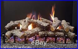 Sierra Majestic Oak Gas Log Kit with Bi-Flo Burner Nat. Gas 30 Vented Gas Log