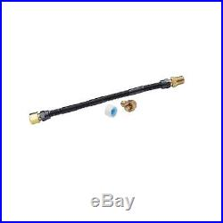 Stanbroil 3//8 X 30 Non-Whistle Flexible Flex Gas Line Connector Kit for NG or LP Fire Pit and Fireplace