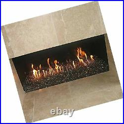 Stanbroil Rectangular Stainless Steel H-Burner for Fireplace or Fire Pit, 24