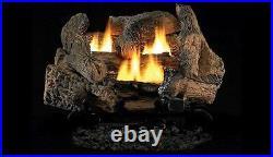 Superior 18 Golden Oak Vent Free Gas Log Set withVD1824 MV Burner NG
