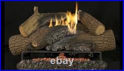 Superior 24 Rugged Stack Gas Log Set withTF2430 Electronic Burner NG