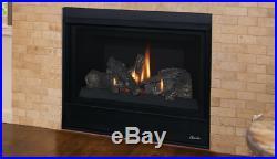 Superior DRT2033 Direct Vent Gas Fireplace Aries 33 Traditional Log Set IPI