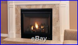 Superior DRT3045 Direct Vent Gas Fireplace Gemini 45 Traditional Logs Millivolt