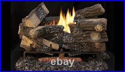 Superior Fireplaces Gas Logs Model LTF18MM, 18 Massive Mixed Oak. New In Box