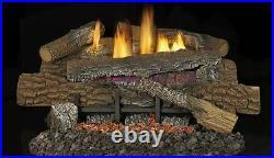 Superior LBG30BM 30 Boulder Mountain Vent Free Gas Log Set- LOGS ONLY