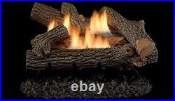 Superior LVD24CH 24 Crescent Hill Vent Free Gas Log Set- LOGS ONLY