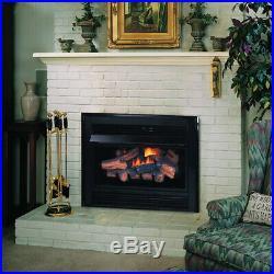 Superior VCI3032 Gas Fireplace Insert LP VCI3032ZMP 33000 BTUs Fiber Logs