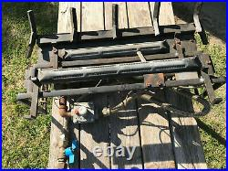 UNBRANDED GAS LOG FIREPLACE STOVE INSERT BURNER with LOG GRATE UNTESTED