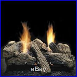 VENT FREE GAS LOGS Monessen NBST27 See Thru Natural Gas