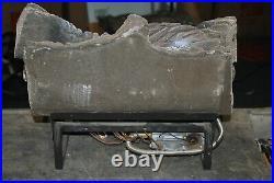 Vanguard Firewerks 18 Ceramic FIREPLACE LOGS with BURNER, Ventless