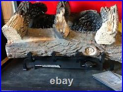 Vantage Hearth 24 Natural Gas Vintage Oak Log Set 17-24K