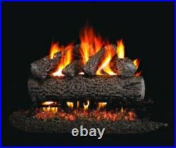 Ventis Allegheny Oak Vented Gas Logs 18 Propane Gas