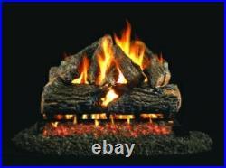 Ventis Burnt Mountain Oak Vented Gas Logs -24 Propane Gas