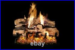 Ventis Cord Oak Vented Gas Logs -24 Natural Gas