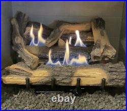Ventless Everwarm Low Timber Gas Logs Natural Gas Manual
