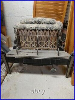 Vintage Humphrey Gas Log Fireplace Insert. Rapidfire No. 305, 20,000 BTUs