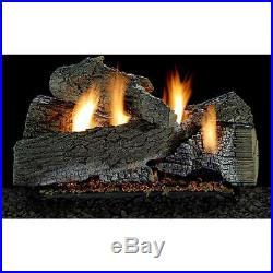 Wildwood Vent-Free Gas Log Set Optional REMOTE 18, 24 30