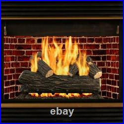 Willow Oak 30 in. Vented Gas Log Set by Pleasant Hearth