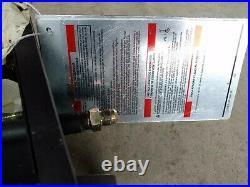 Wood fireplace natural Gas log Conversion Kit grate manifold burner 18 inch